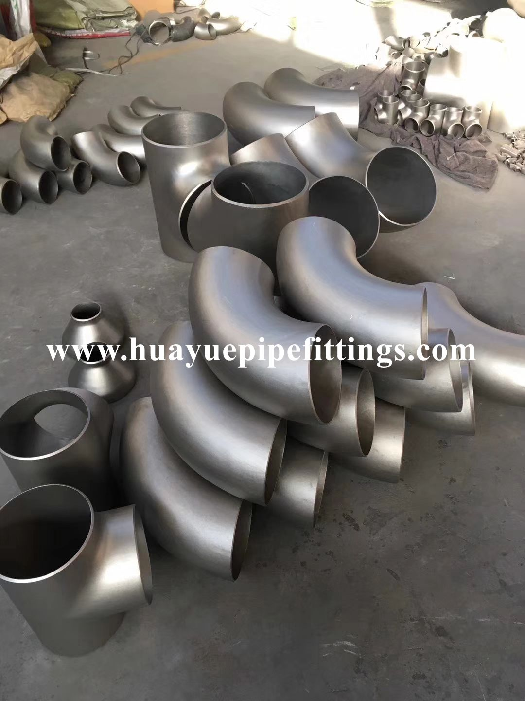 ASTM 304 Stainless Steel Pipe Elbow and Pipe Tee