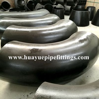 Large diameter butt weld pipe elbow